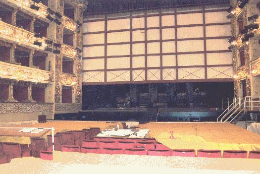 Sipario Tagliafuoco Teatro Regio di Parma